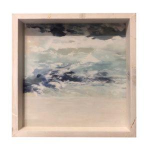 Wooden Wall Decor • Abstract Ocean Art